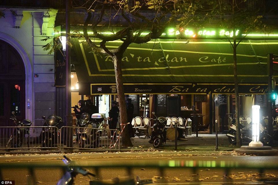 Image of the Bataclan cafe