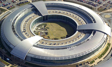 Image of GCHQ donught building. Doesn't look like a doughnut. Look. Oh c'mon, can't you see - open your eye.