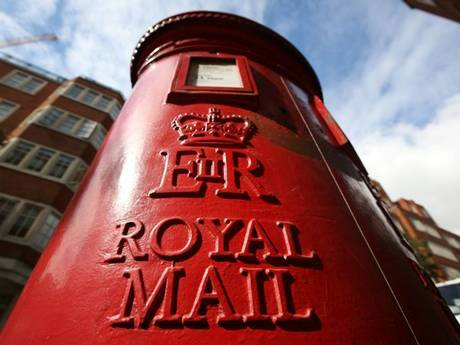 Image of Royal Mail postbox