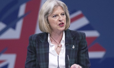 Image of UK Home Secretary Theresa May