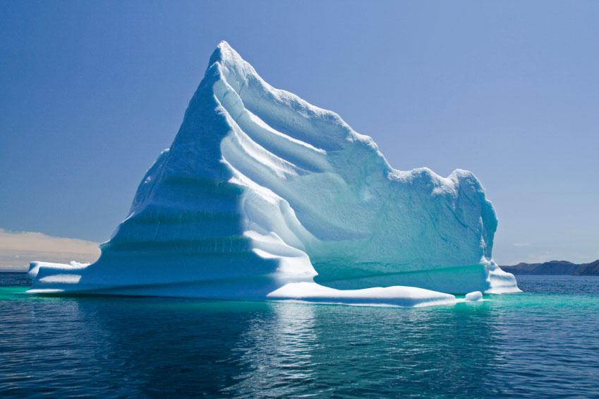 Image of an iceberg