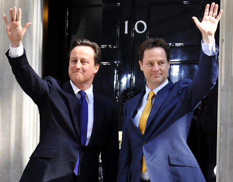Image of David Cameron and Nick Clegg