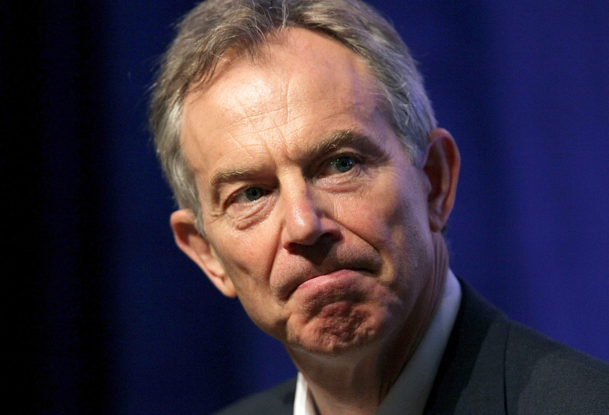 Tony Blair, apparent saviour but soon to be coffin-nail of the UK Labour Party (when exposed as a n***e)
