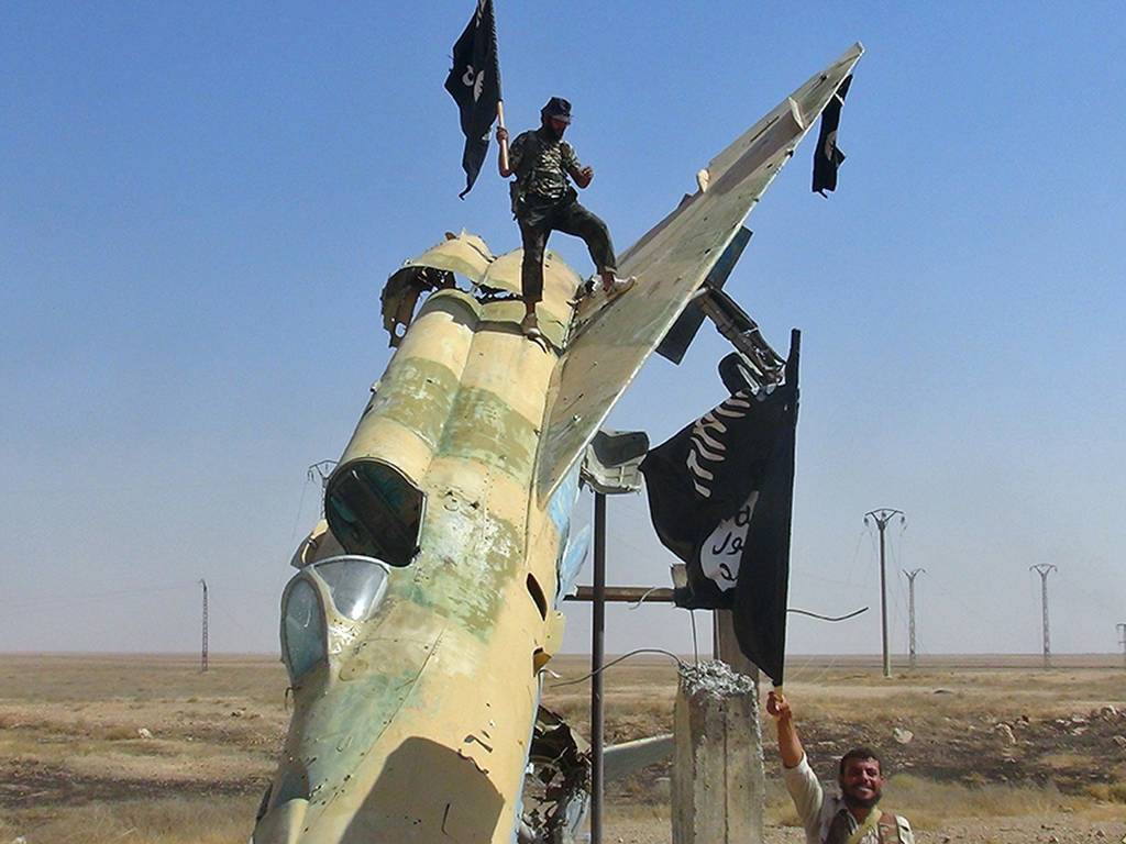 Image of Western sponsored terrorists ISIS ISIL ISI Daesh