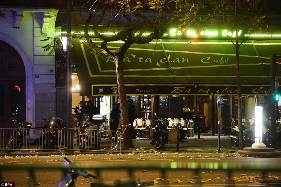 Image of the Bataclan cafe