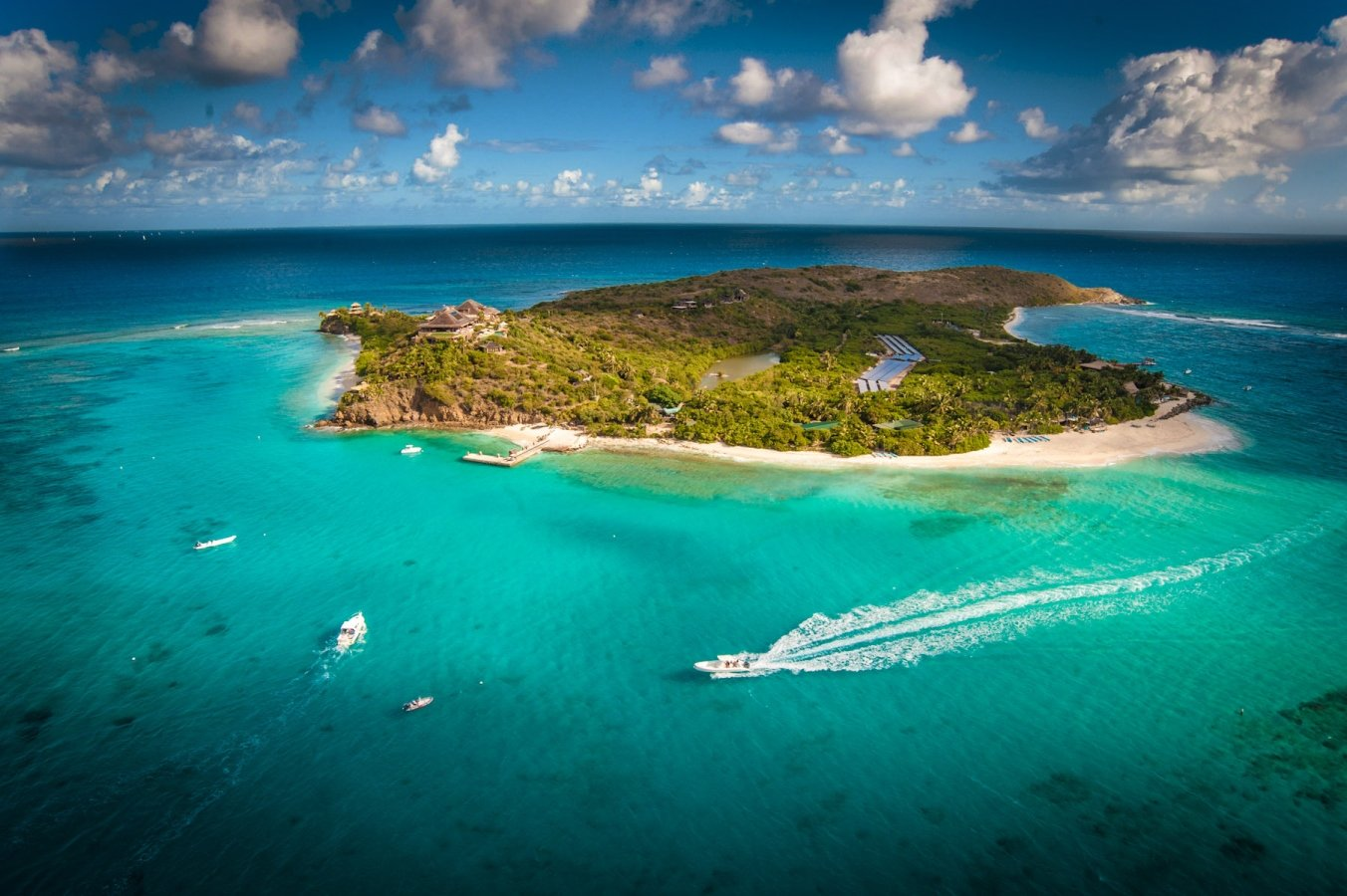 Image of Richand Branson's Necker Island