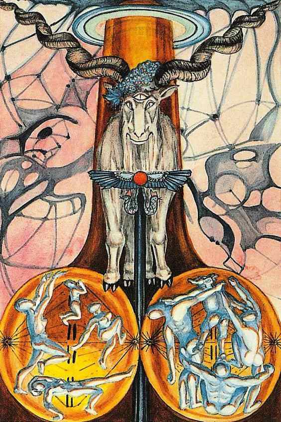 Thoth tarot Devil card