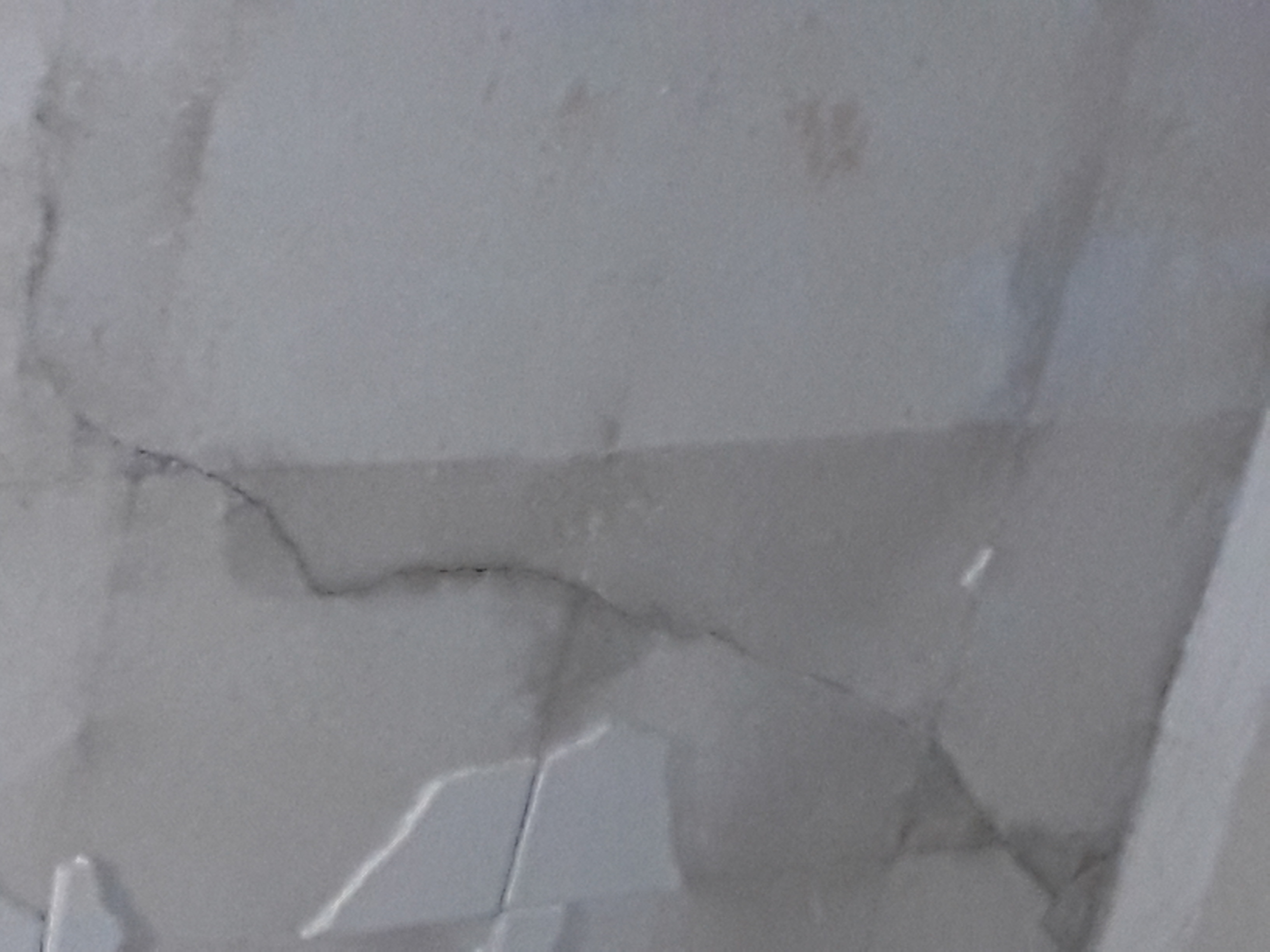 image of cracked ceiling