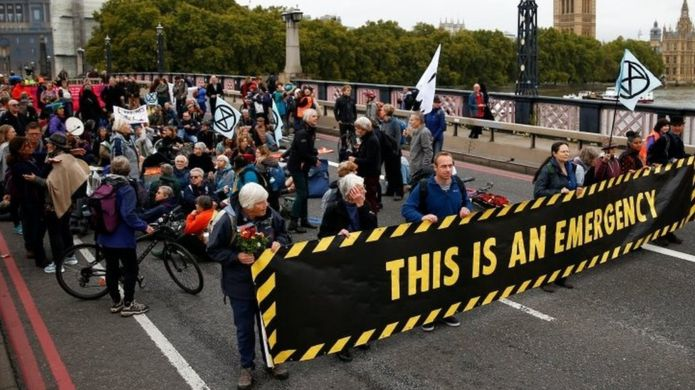 Extinction Rebellion London protests 7 October 2019