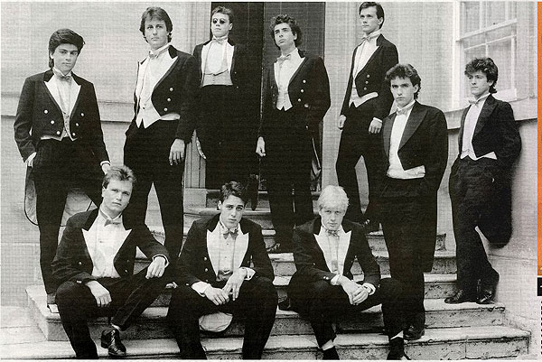 Image of Oxford's Bullingdon Club